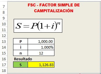 6 claves financieras en excel